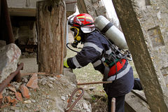 stock image of  intervention rescuer