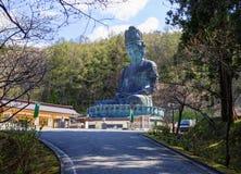 stock image of  japan. big buddha of aomori prefecture.