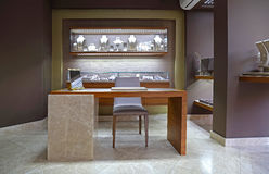 stock image of  jewelry store
