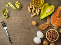 stock image of  ketogenic low carbs diet concept