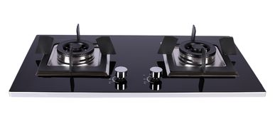 stock image of  kitchen gas stove