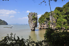 stock image of  landscapes james bond island