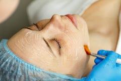 stock image of  laser rf-rejuvenation. elos rejuvenation