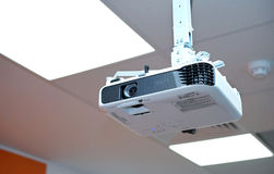stock image of  lcd image projector