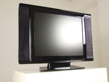 stock image of  lcd tv
