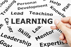 stock image of  learning concept
