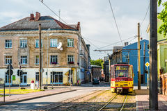 stock image of  liepaja transport