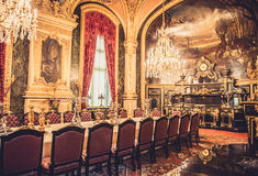stock image of  louvre museum napoleon apartments