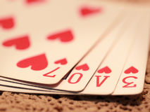 stock image of  love game
