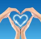 stock image of  love symbol