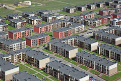 stock image of  low-rise housing