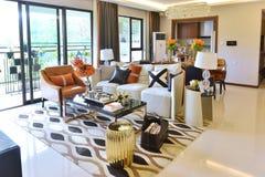 stock image of  luxury living room