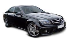 stock image of  luxury sports saloon car
