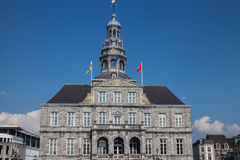 stock image of  maastricht city hall