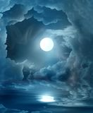 stock image of  magic moon