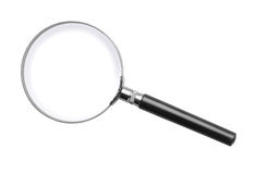 stock image of  magnifying glass
