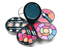 stock image of  makeup kit