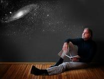 stock image of  man thinking