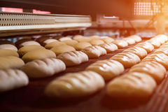stock image of  manufacture of bread.