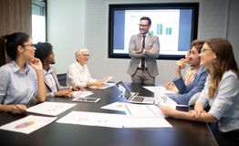 stock image of  meeting corporate success business brainstorming teamwork concept