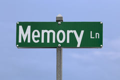 stock image of  memory lane