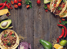 stock image of  mexican street food.