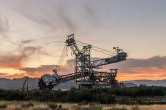 stock image of  mining machinery