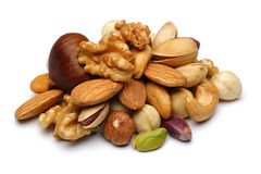 stock image of  mixed nuts