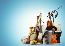 stock image of  musical instruments