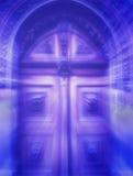 stock image of  mystical door