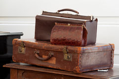stock image of  vintage bags
