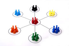 stock image of  networking