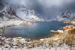 stock image of  norway travelling and destinations. picturesque reine viewpoint