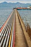 stock image of  oil pipeline