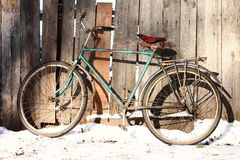 stock image of  old bicycle