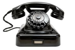 stock image of  old phone