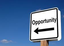 stock image of  opportunity