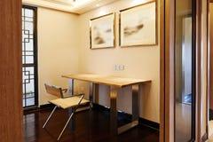 stock image of  oriental study room
