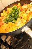 stock image of  pasta pan