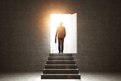 stock image of  pathway of opportunity