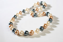 stock image of  pearl jewellery