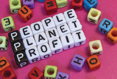 stock image of  people planet profit