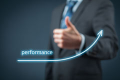 stock image of  performance increase