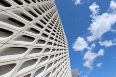 stock image of  the broad contemporary art museum, los angeles