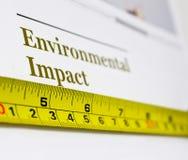 stock image of  environmental impact