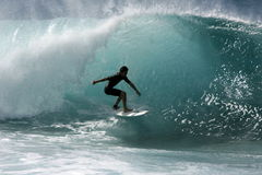 stock image of  pipeline surfer