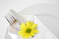 stock image of  place setting 4