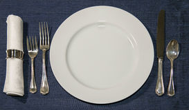 stock image of  place setting
