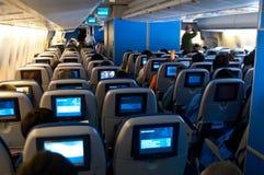 stock image of  plane seats