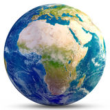 stock image of  planet earth - africa